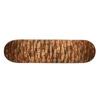 Palm Tree Bark Skateboard Deck