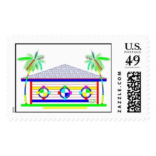 PALM TREE BARN stamp