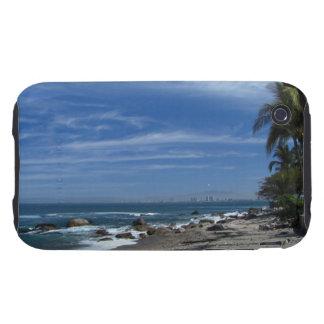 Palm Tree Beach iPhone 3 Tough Cases