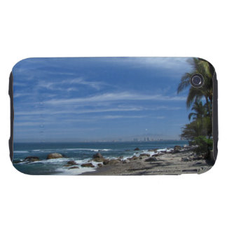 Palm Tree Beach iPhone 3 Tough Cover
