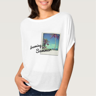 Palm Tree beach photo Dreaming of Summer T-Shirt