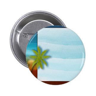 Palm Tree / Beach theme wedding / event Button