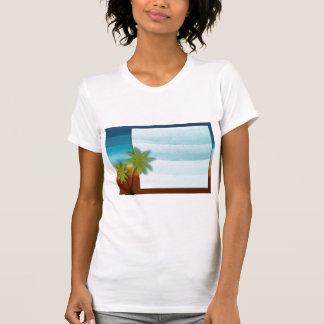 Palm Tree / Beach theme wedding / event T Shirt