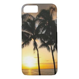 Palm Tree Beach Tropical Sunset iPhone 7 Case