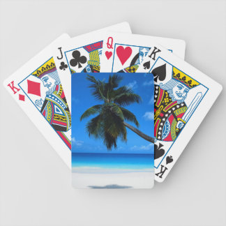 Palm Tree Bicycle Playing Cards