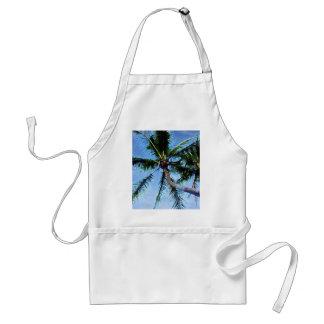 Palm Tree & Blue Sky Adult Apron