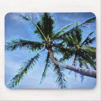 Palm Tree & Blue Sky Mouse Pad