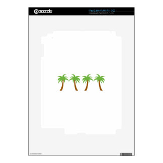 PALM TREE BORDER DECALS FOR iPad 2