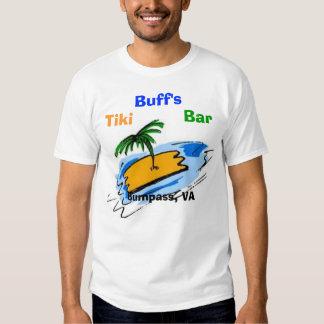 Palm Tree, Buff's, Tiki, Bar, Bumpass, VA T-shirt