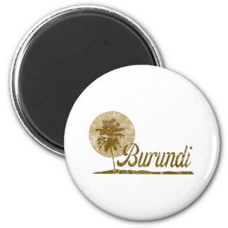 Palm Tree Burundi Magnet