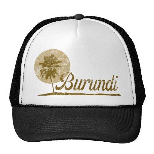 Palm Tree Burundi Trucker Hat
