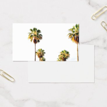 Professional Business Palm Tree Business Card
