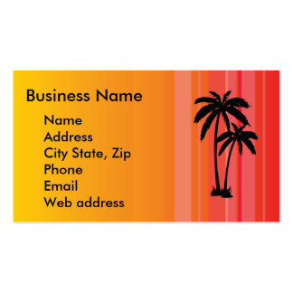 Palm Tree Business Card