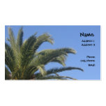 Palm Tree Double-Sided Standard Business Cards (Pack Of 100)