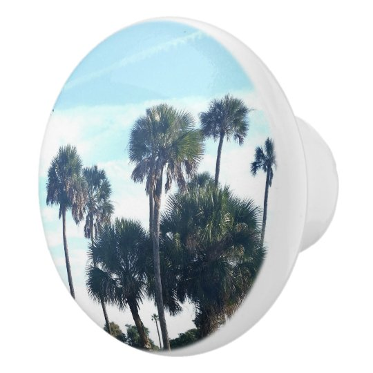 palm tree cabinet knobs zazzle com rh zazzle com Flower Cabinet Knobs Kitchen Knobs with Palm Trees