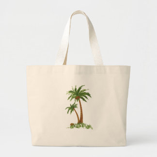 PALM TREE CANVAS BAGS