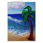 Palm Tree Card