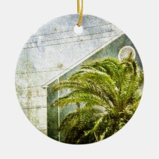 Palm Tree :) Ceramic Ornament