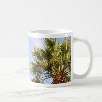Palm Tree Classic White Coffee Mug