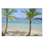 palm tree cloth placemat