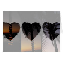 Palm Tree Collage; Happy Mother's Day Card