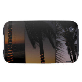 Palm Tree Collage Tough iPhone 3 Cover