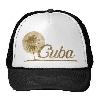 Palm Tree Cuba Trucker Hat