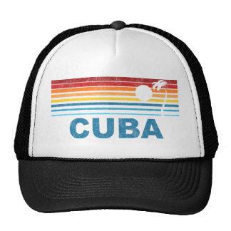 Palm Tree Cuba Mesh Hats