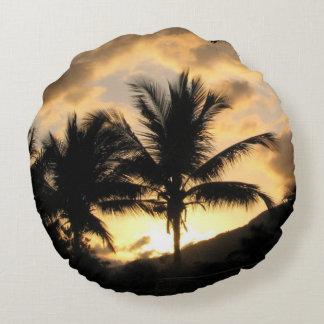 palm tree cushion