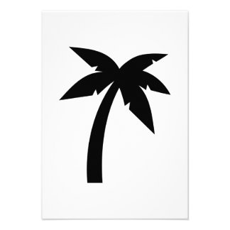 Palm tree custom invite