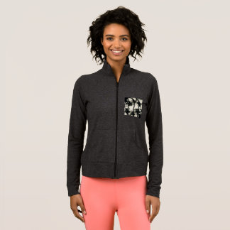 Palm Tree Design Women's Practice Jacket