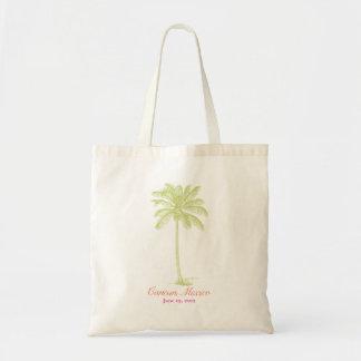 Palm Tree - Destination Wedding Tote Bag