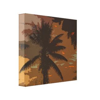 Palm Tree Dreams 1 Canvas Print