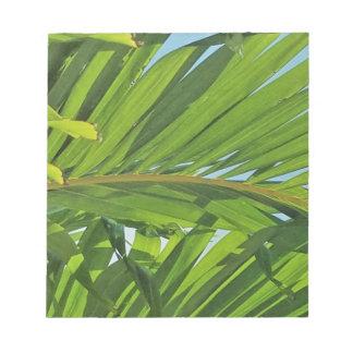 Palm tree dreams notepad