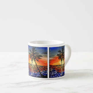Palm Tree Espresso Cup