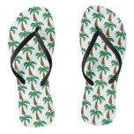 Palm Tree - Flip Flops