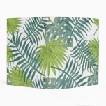 Palm Tree Fronds Painting Art Drawing Illustration Mini Binder