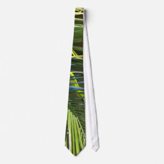 Palm Tree Fronds Tie