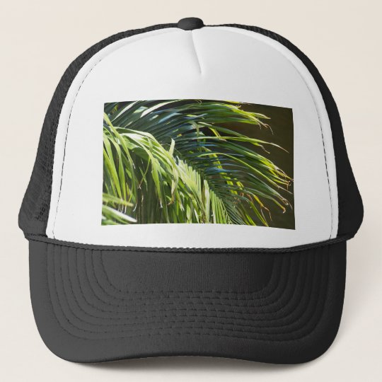 Palm tree Fronds Trucker Hat