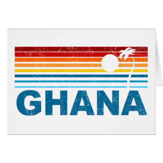 Palm Tree Ghana Card