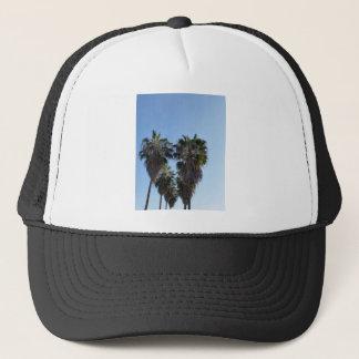 Palm Tree Heart California Love Photo Trucker Hat
