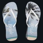 65790f8c0 Palm Tree I Wedding Flip Flops Bride Beach Sandals br  div class