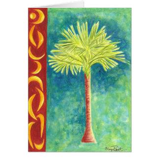 Palm Tree III Card
