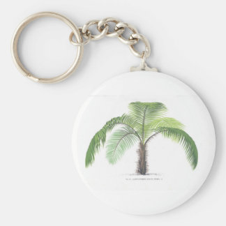 Palm tree illustration III Collection Keychain