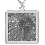 Palm Tree in B&W Necklace
