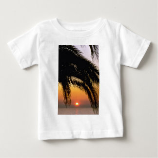 Palm Tree In Late Afternoon T-shirts