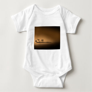 Palm-tree-island-sunset1432 GOLDEN PALM ISLAND SUN T-shirts