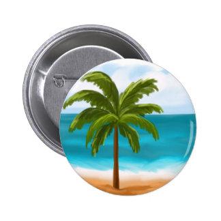 Palm Tree.jpg Pinback Button