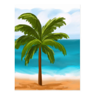 Palm Tree.jpg Postcard