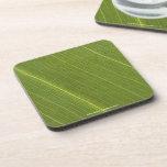Palm Tree Leaf Drink Coasters